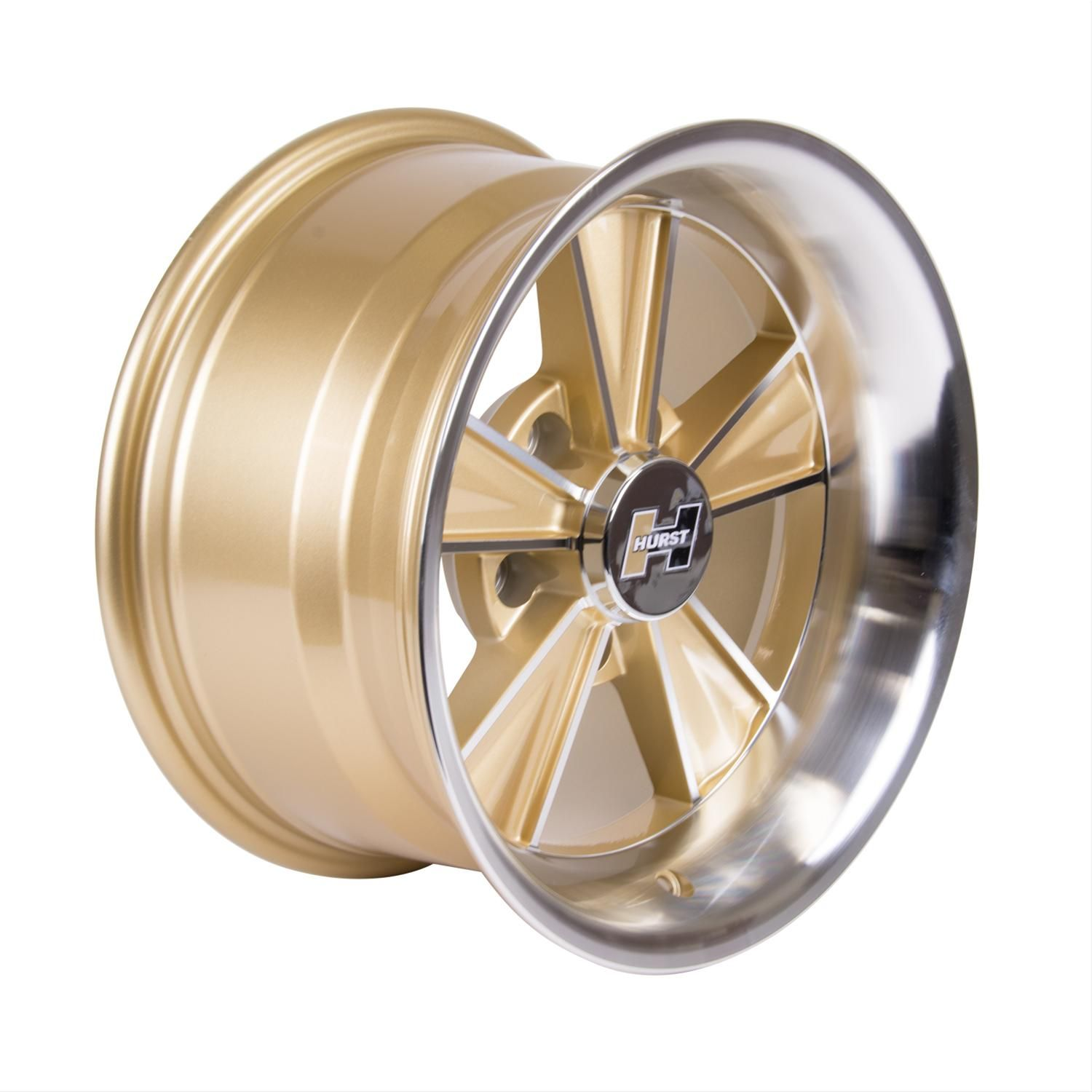 Find Hurst Gold Dazzler Wheels 806043 And Get Free Shipping On Orders Over 99 At Summit Racing A Few Different Companies Used To Sell Ra Wheel Hurst 1965 Gto