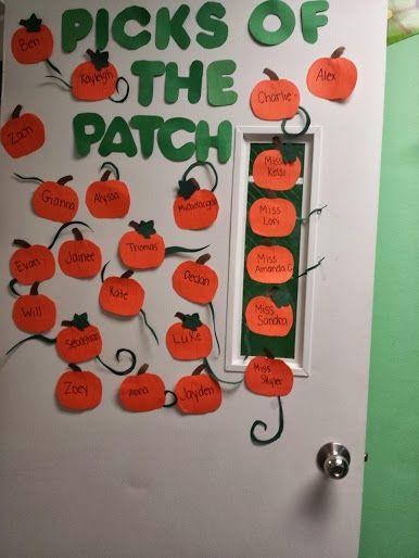 . #pumpkinpatchbulletinboard