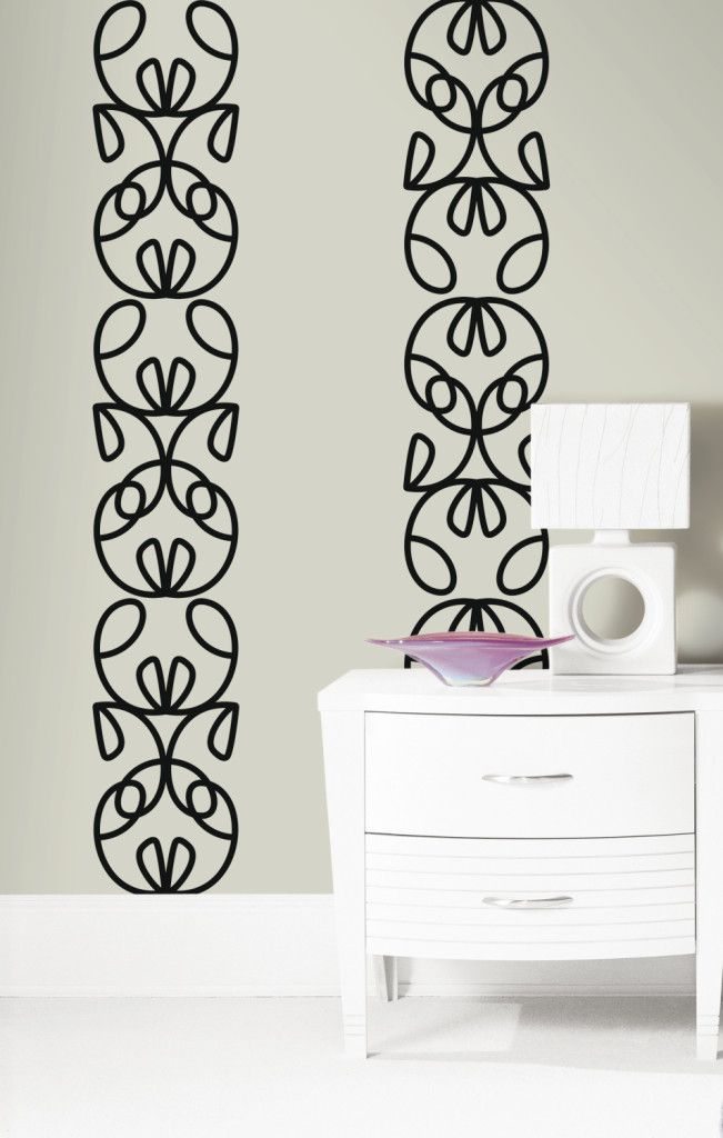 Create Your Own Wall Art Using Ribbon Headboard Wall Stickers By  @notneutralpin. Part 72