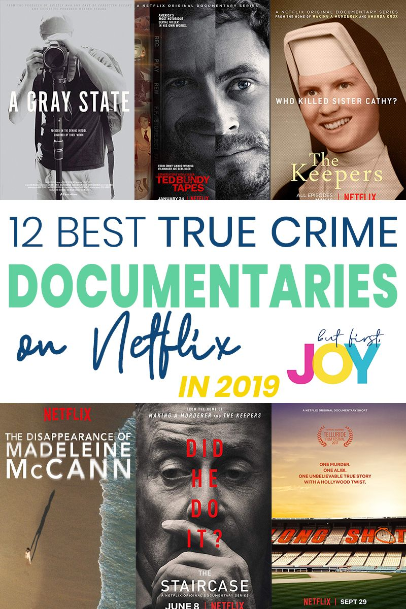 12 Best Crime Documentaries On Netflix To Watch In 2020 Documentaries Netflix Documentaries Netflix Movies To Watch