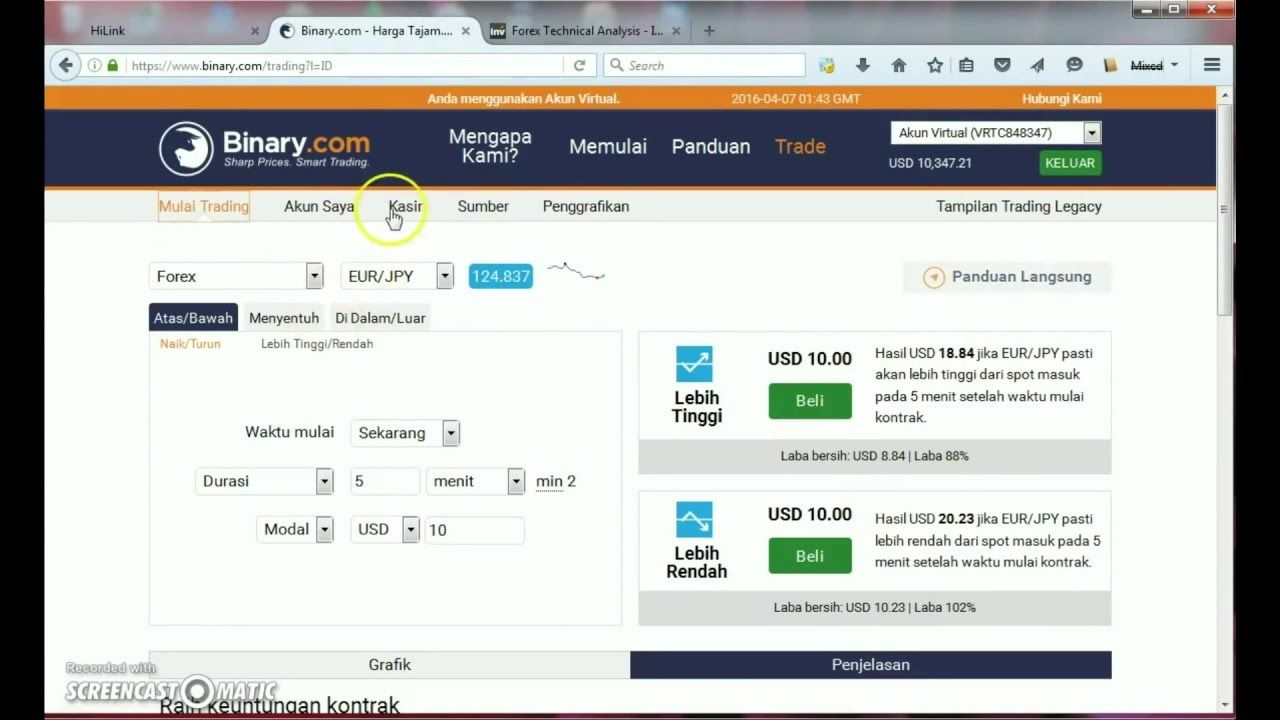 Akun Mikro Forex Demo dan Live - Alpari International