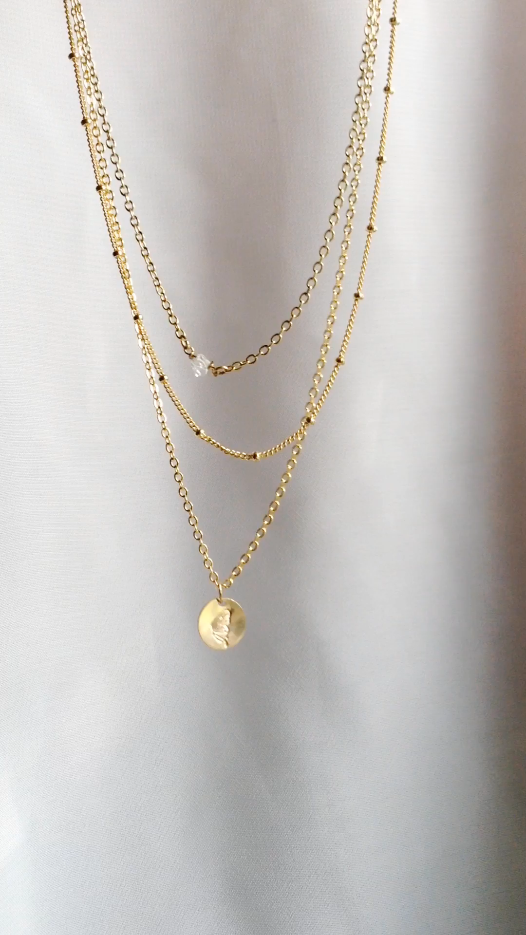 Small Dainty Necklaces For Layering | IB Jewelry