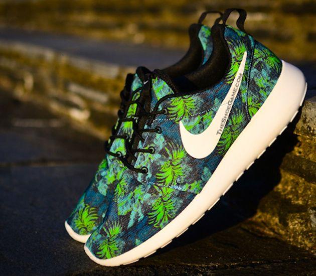 Nike Roshe Poison Courir Prix De Palmiers Vert