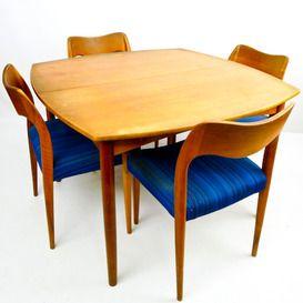 Set van 4 Niels Moller chair #71