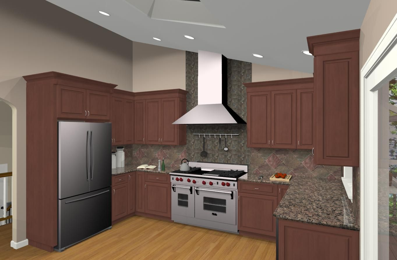 Bi level home remodel kitchen remodeling design options for Split level home kitchen ideas