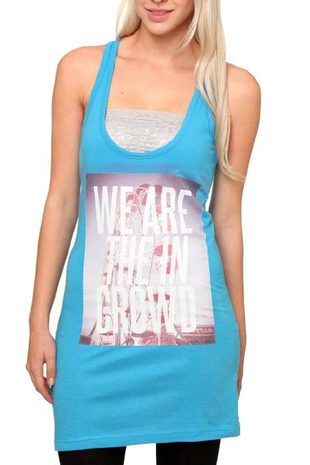 Amazon.com: We Are The In Crowd Ferris Wheel Girls Tunic Tank Top Plus Size Size : XX-Large: Clothing