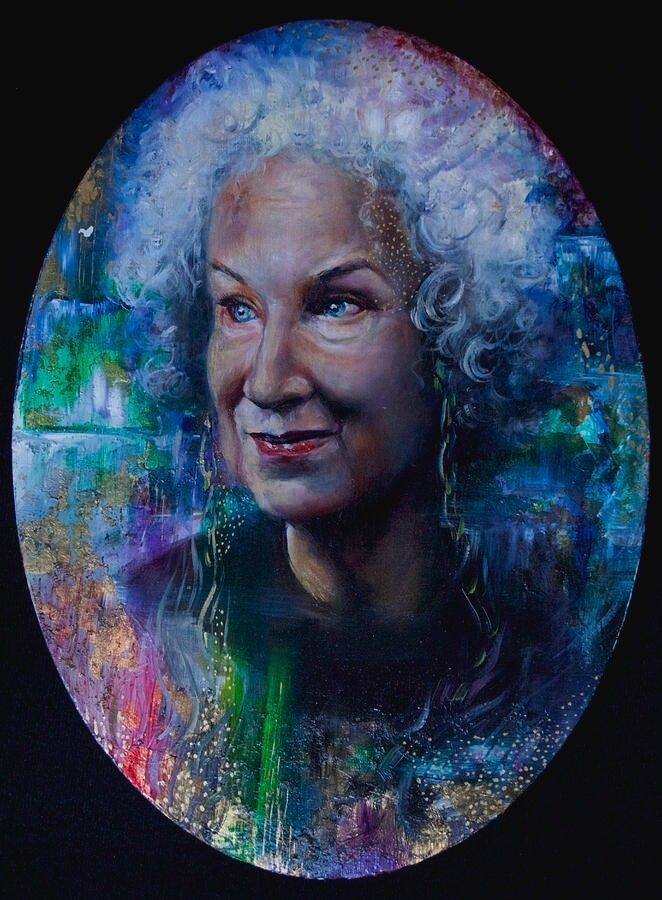 Margaret Atwood by Rebecca Zai #margaretatwood Margaret Atwood by Rebecca Zai #margaretatwood