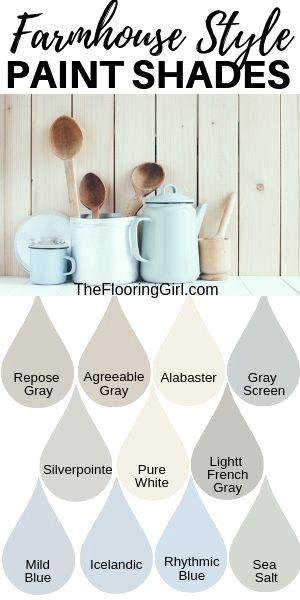 Farmhouse style paint colors and decor   The Flooring Girl
