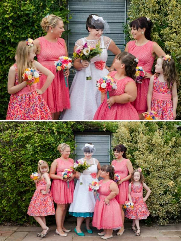 The Bride Diaries Kim S Quirky Kitsch Colourful Wedding Part 1