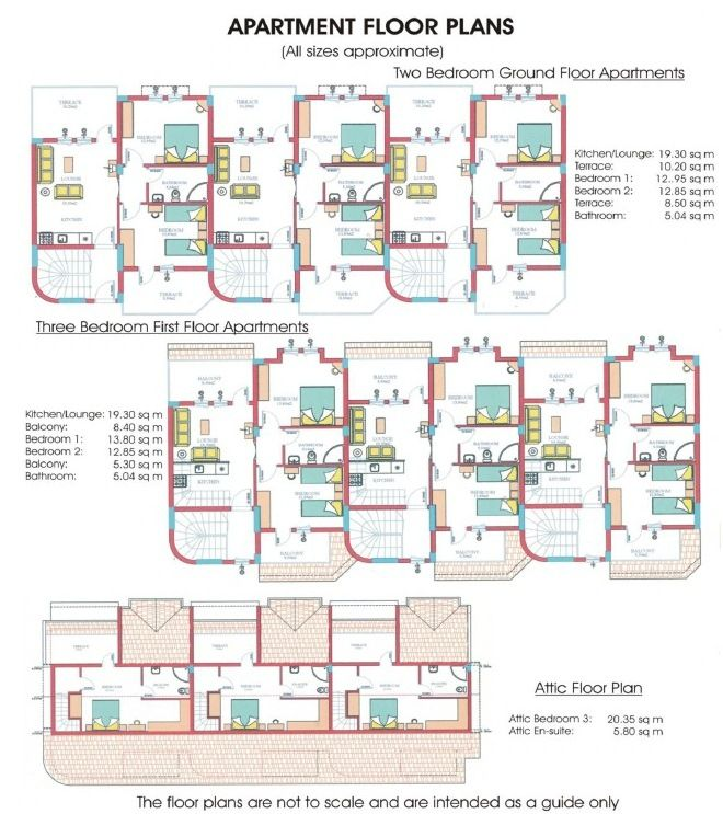 Micro Floor Plans Apartments Site Plan Villa