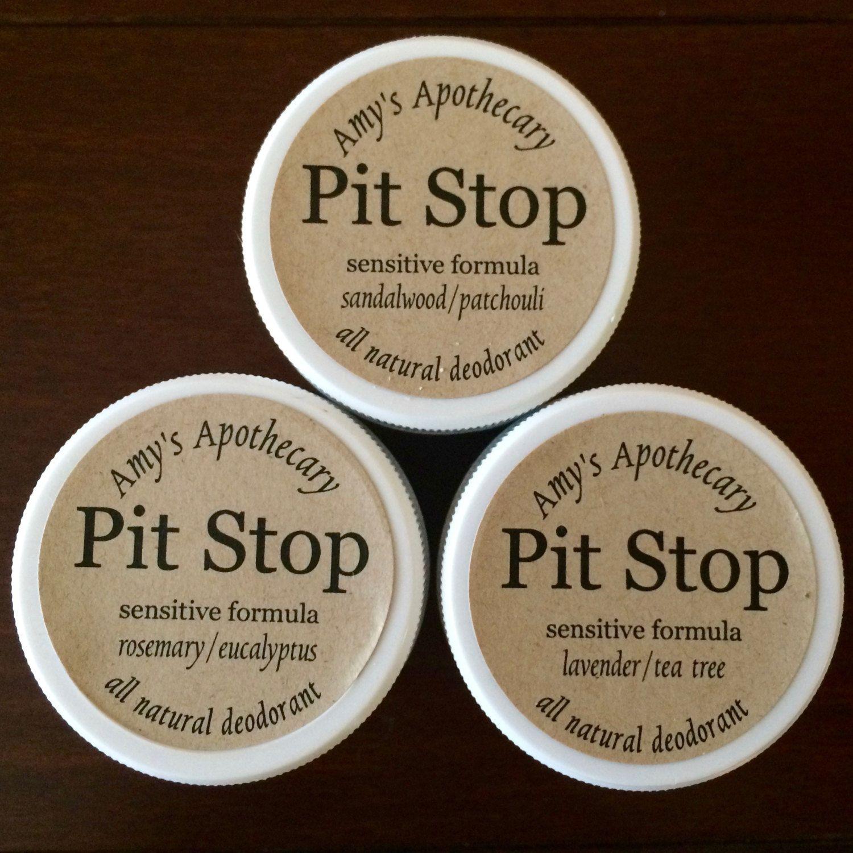 All-Natural Detoxifying Deodorant Paste for Sensitive Skin Trio of Scents…
