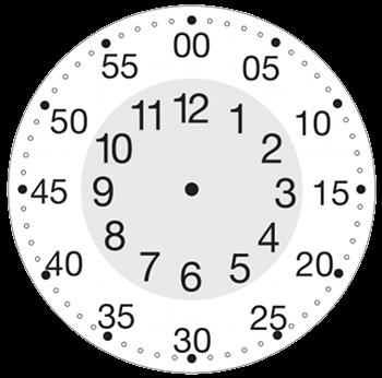 Simple Learning Clock for Kids | Kids | Pinterest | Learning clock ...
