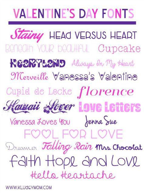 Fancy Fonts Valentine Fonts Font Pinterest Fonts Valentine S