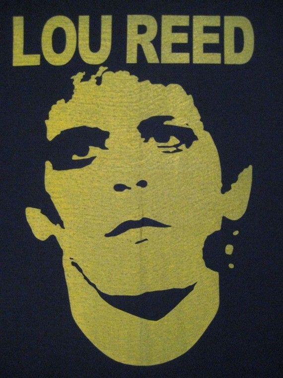 Vintage 70s LOU REED shirt Velvet Underground