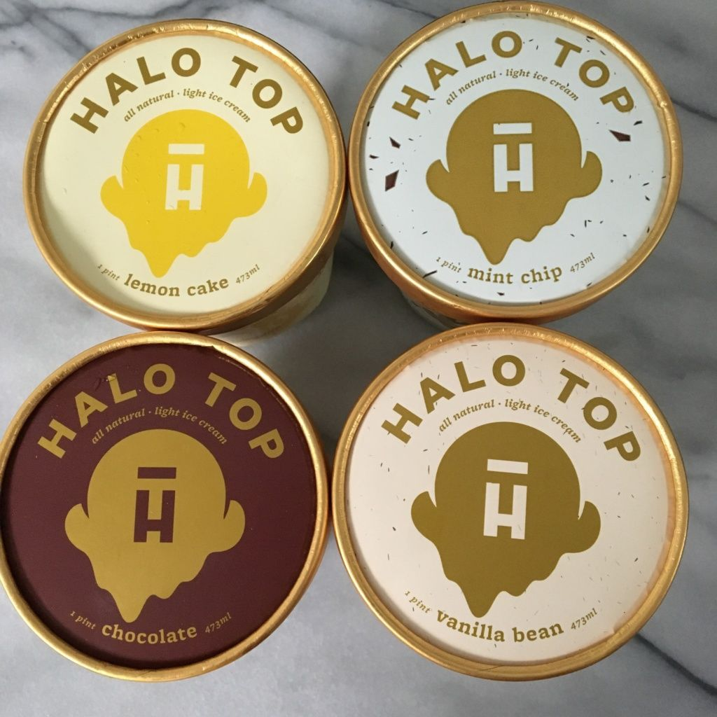 Halo top gluten free follow me chocolate covered