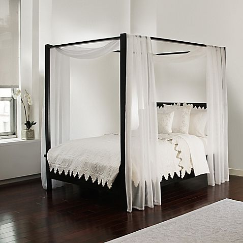 Scarf Sheet Bed Canopy Curtain In White Bed Drapes Bed Curtains Canopy Bed Curtains