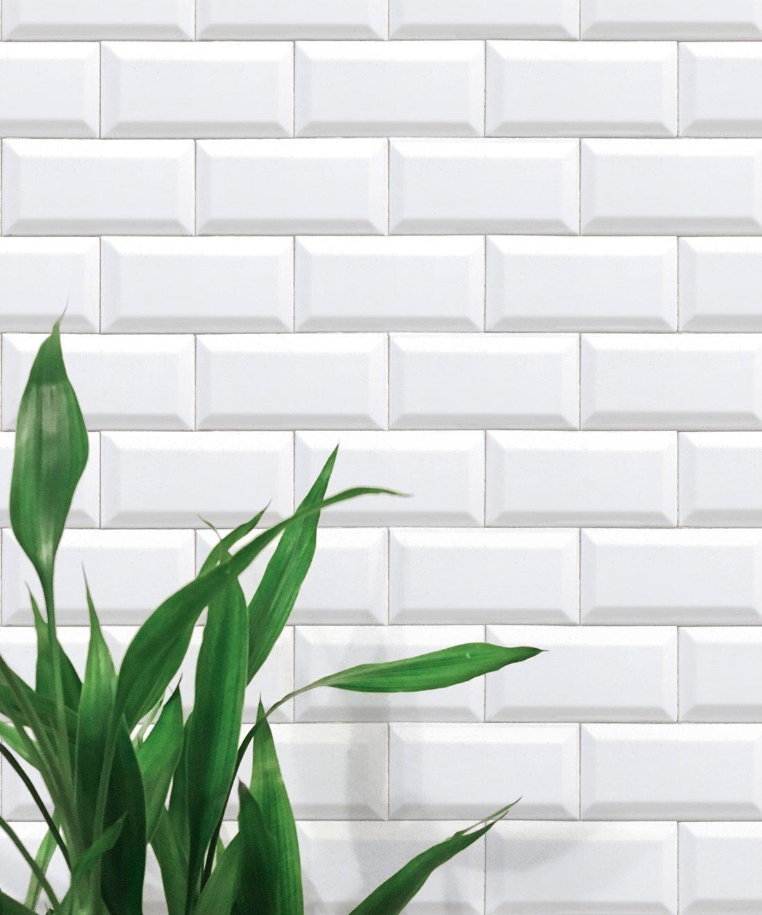 White Subway Tiles Wallpaper Minimal Wallpaper Milton King White Subway Tiles Tile Wallpaper Bathroom Wallpaper Trends
