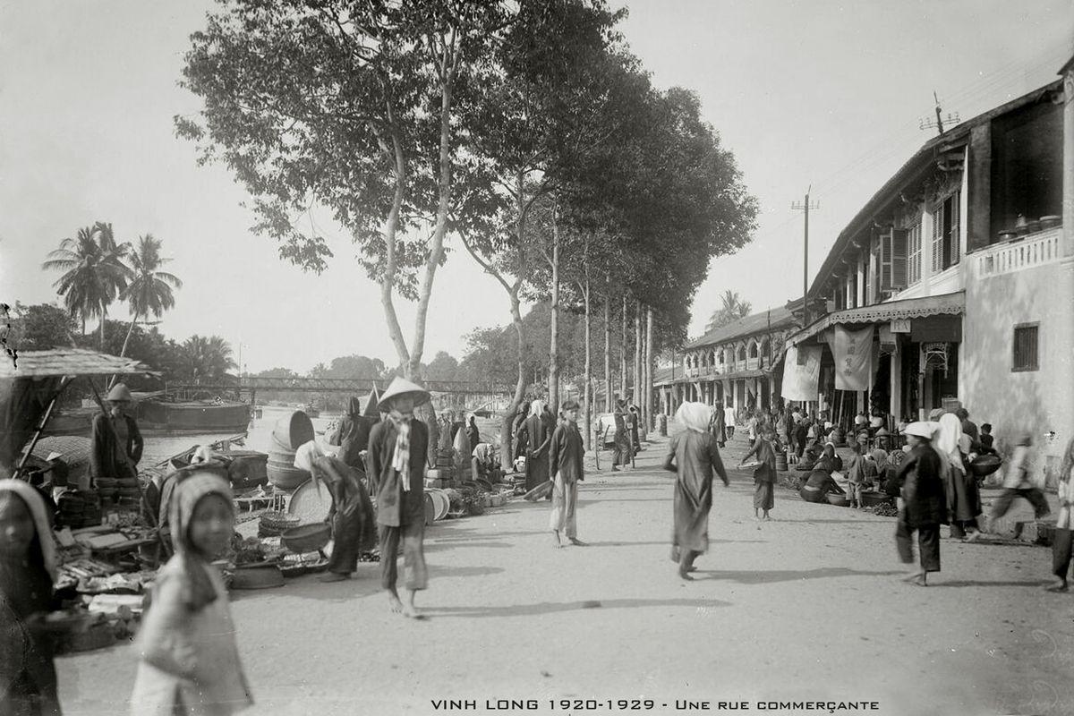 Photos The Bygone Days Of 1920s Vinh Long Urbanist Hanoi Photo Vietnam Vinh Long