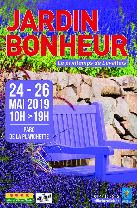Jardin Bonheur, le printemps de Levallois - Paris côté ...