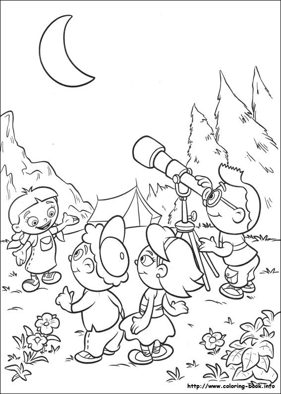 Little Einsteins coloring picture | Niños | Pinterest | Colorear y ...
