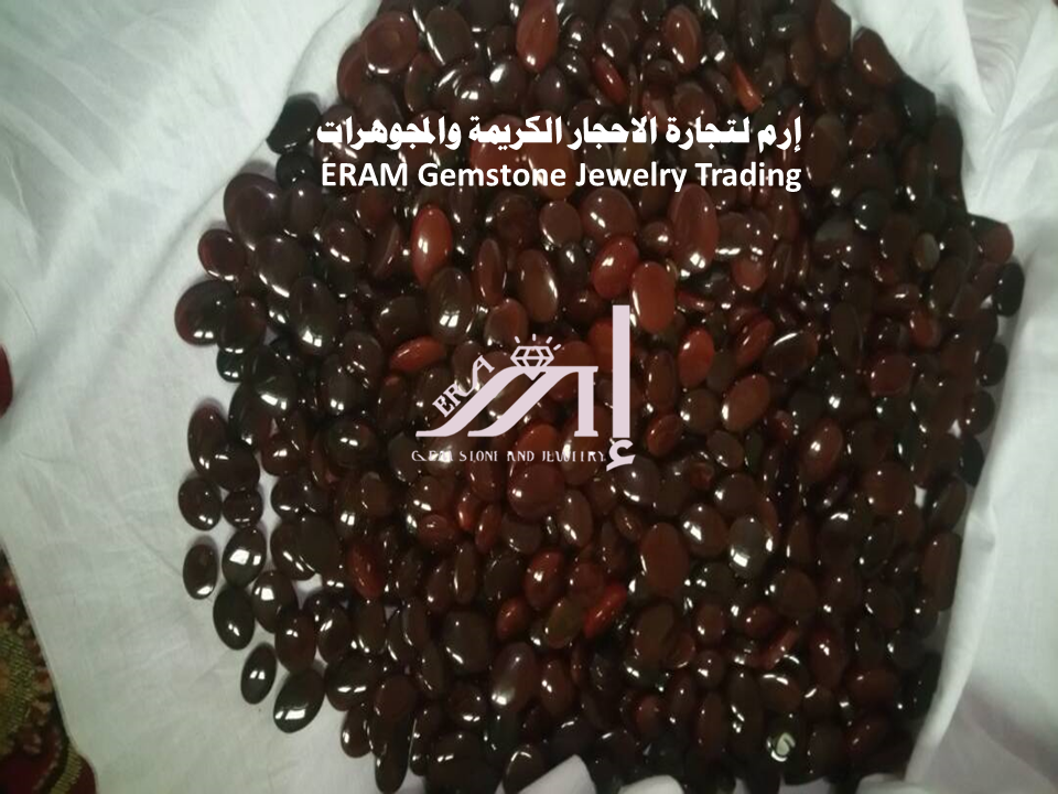 العقيق اليمني الاحمرالكبدي دم الغزال Agate الاصلي 100 Meat Jerky Desserts Food