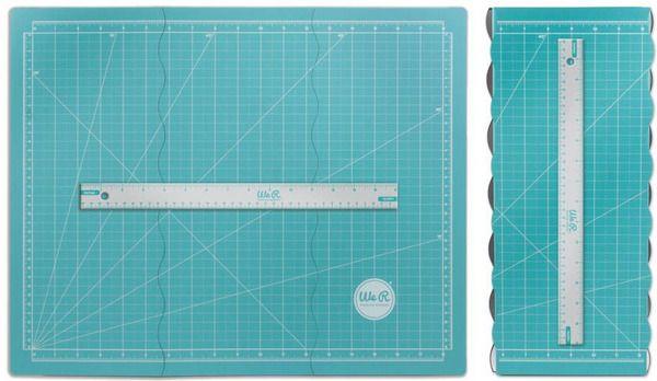 We R Memory Keepers Tri Fold Magnetic Mat We R Memory Keepers Painted Oars Scrapbook