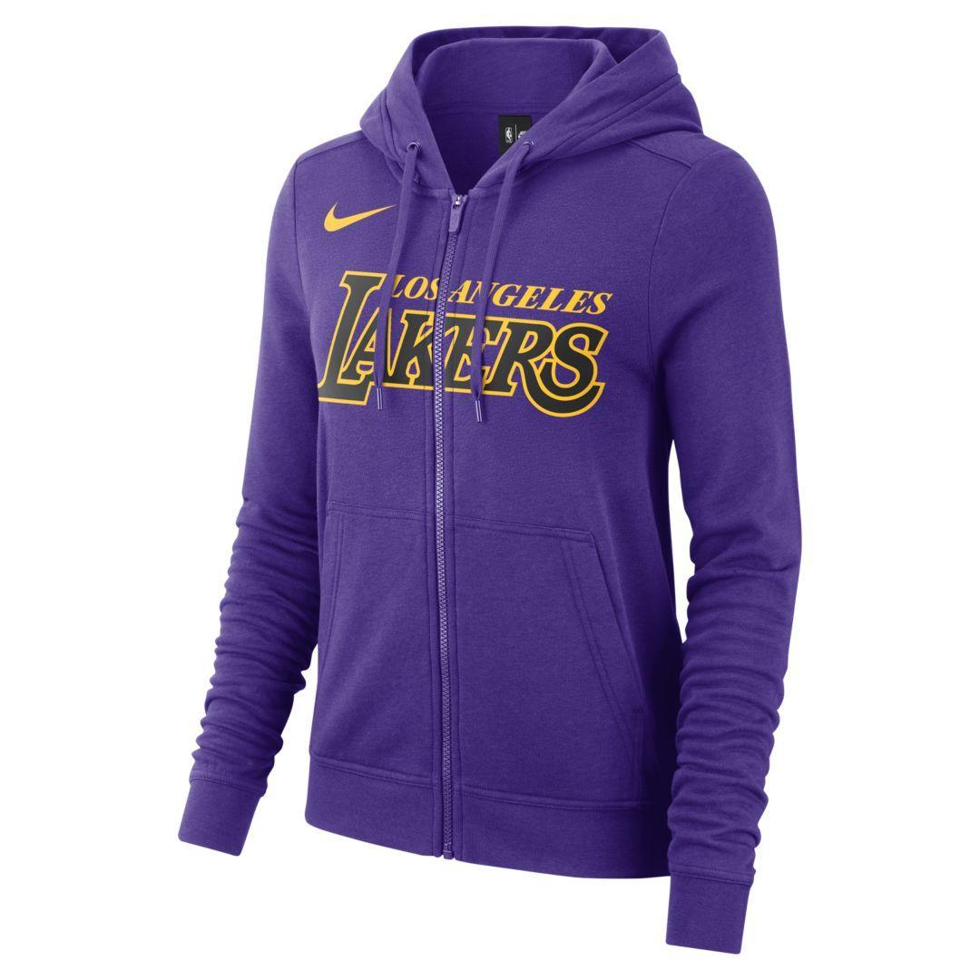 0ab74c75d8f Los Angeles Lakers Nike Women s NBA Hoodie Size 2XL (Field Purple)