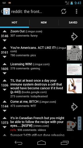 reddit is fun android app