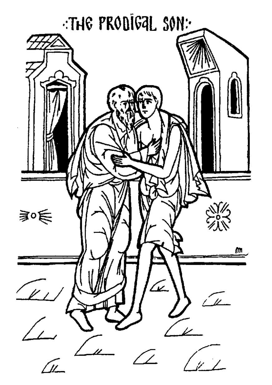 prodigal son  Prodigal, Prodigal son, Coloring pages