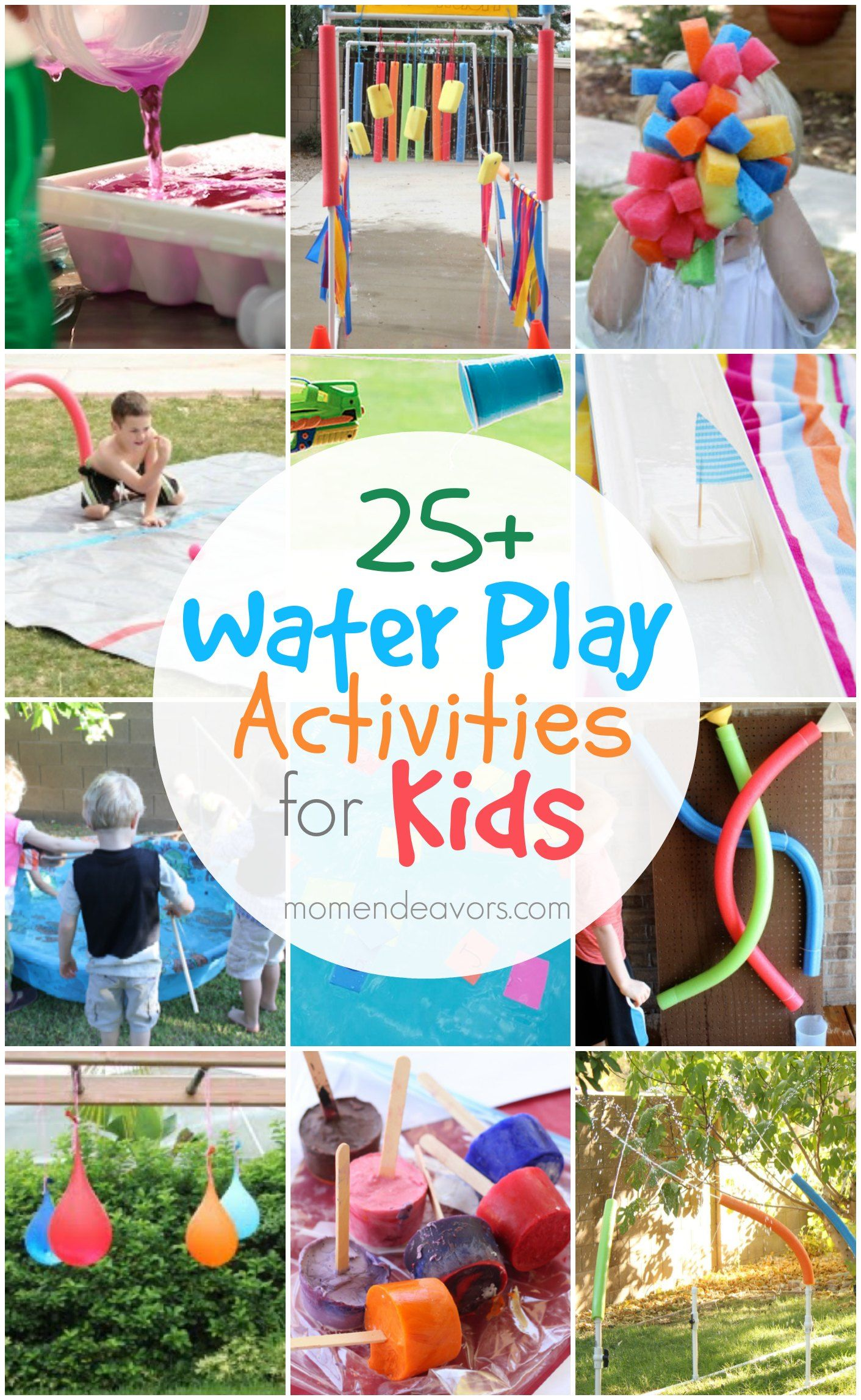 25 Outdoor Water Play Activities For Kids