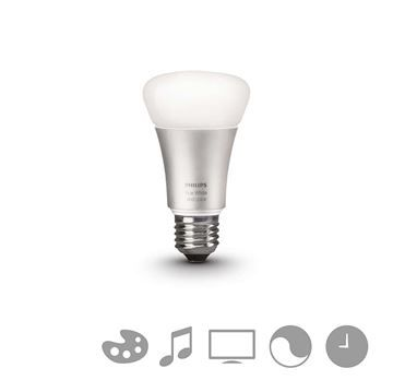 Bec LED Philips Hue, 10W, E27, White and color ambiance