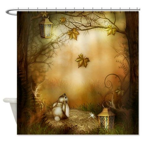 Fairy Woodlands 1 Shower Curtain By Awesome Shower Curtains