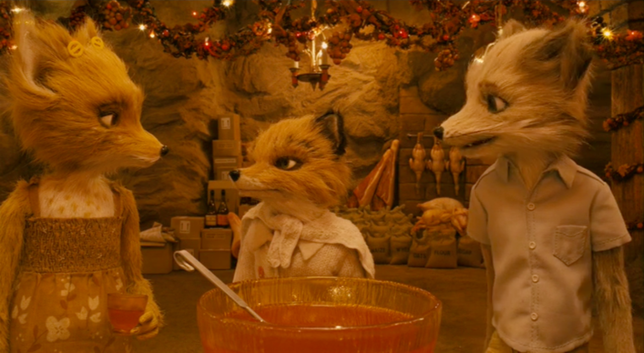 Fantasticwesanderson Fantastic Mr Fox Mr Fox Wallpaper Color In Film