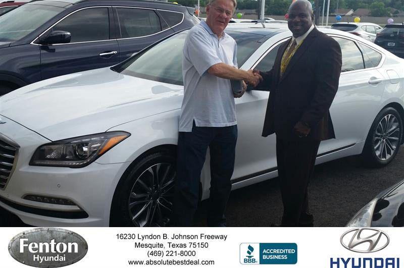 Fenton Hyundai Customer Review Happy anniversary, Car