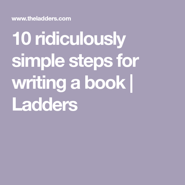 055 Simple 10 Step Checklist To Write Winning Grants: 10 Ridiculously Simple Steps For Writing A Book