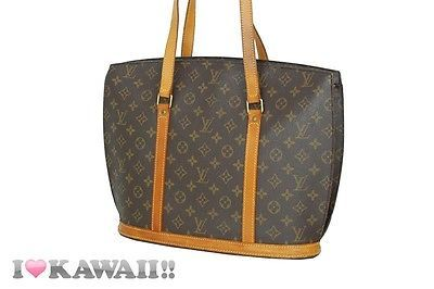 Authentic Louis Vuitton Monogram Babylone Bag Hand Purse Tote Free Shipping!