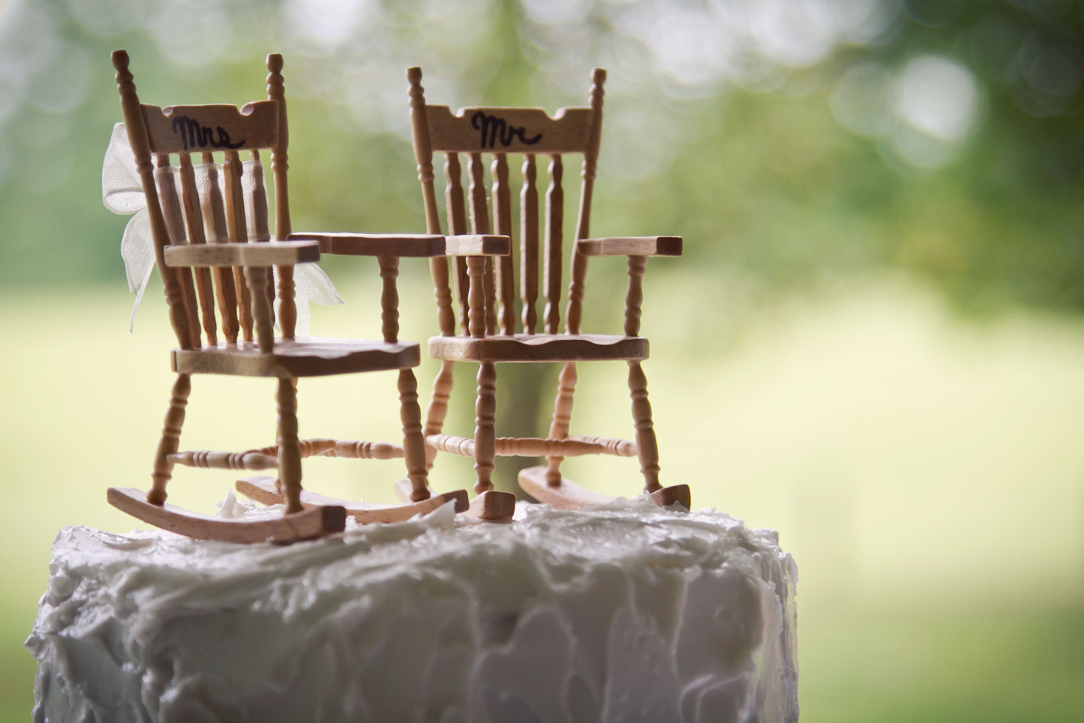 Super His And Hers Rocking Chairs Cake Topper In 2019 Rocking Gamerscity Chair Design For Home Gamerscityorg