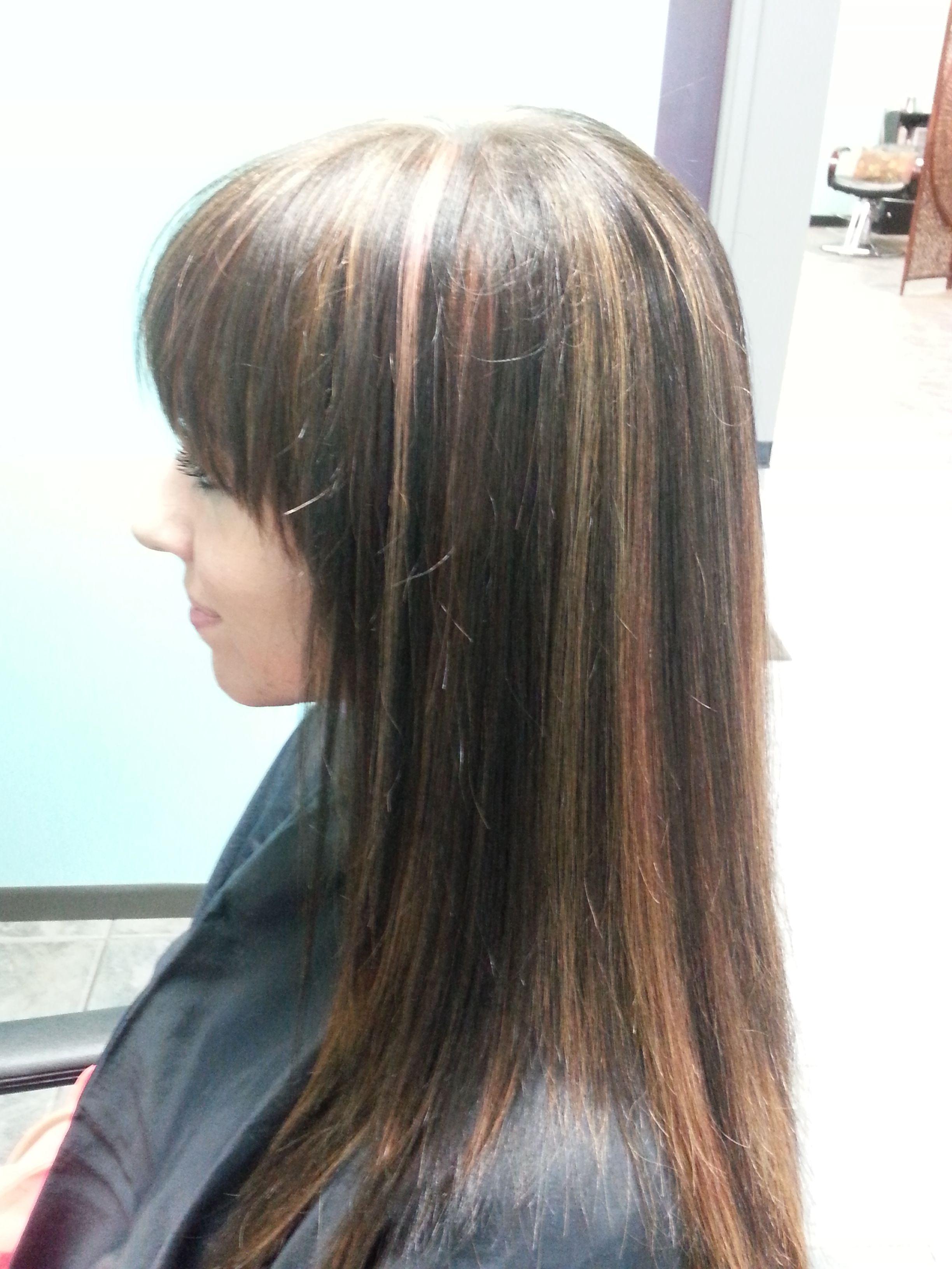 Rainbow Hilite Long Hair Styles Hair Styles Beauty
