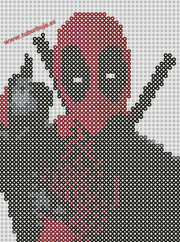 Deadpool Perler Bead Pattern | Pärlor | Pinterest | Plantas ...