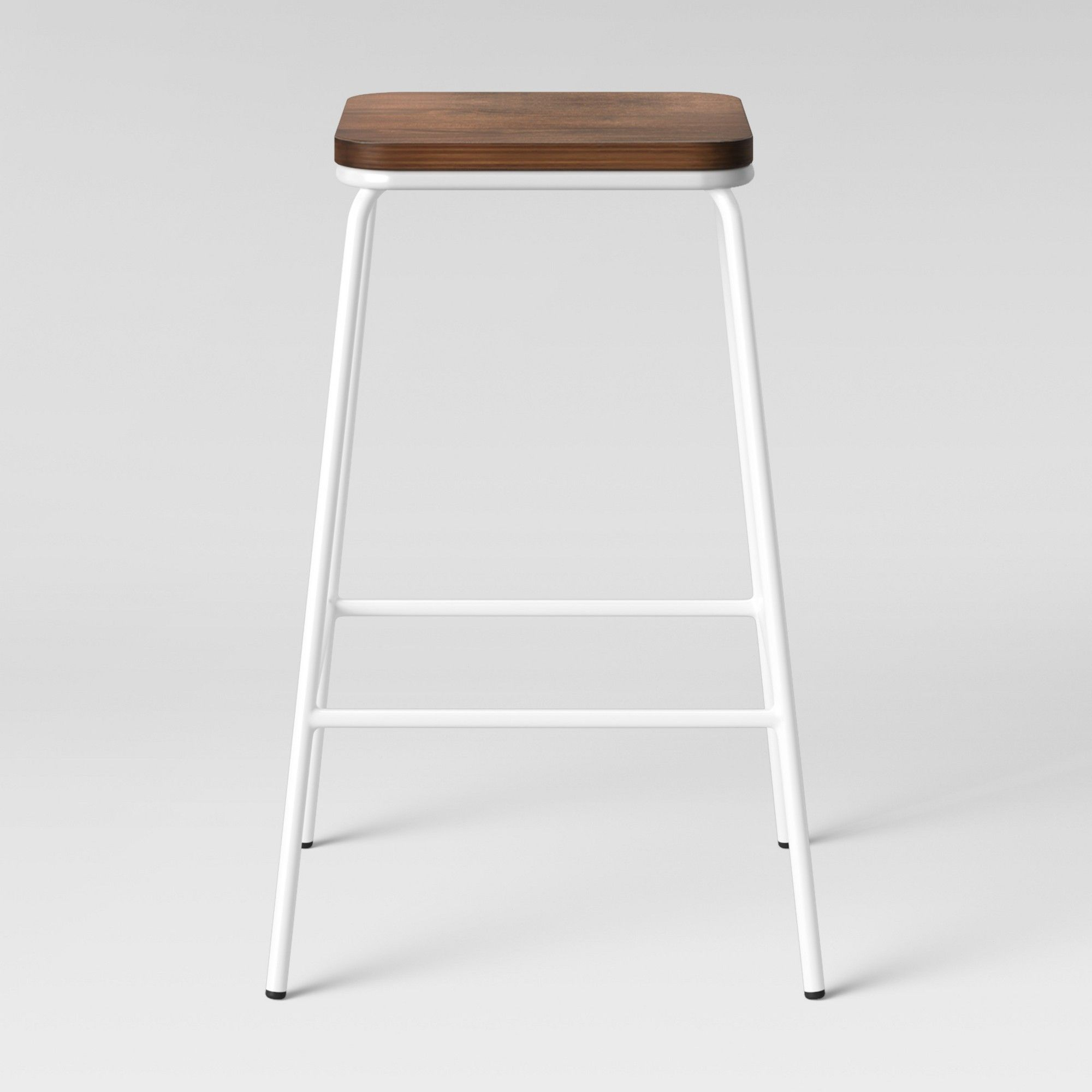 Amazing Rhodes Metal Wood Counter Stool White Project 62 In 2019 Beatyapartments Chair Design Images Beatyapartmentscom