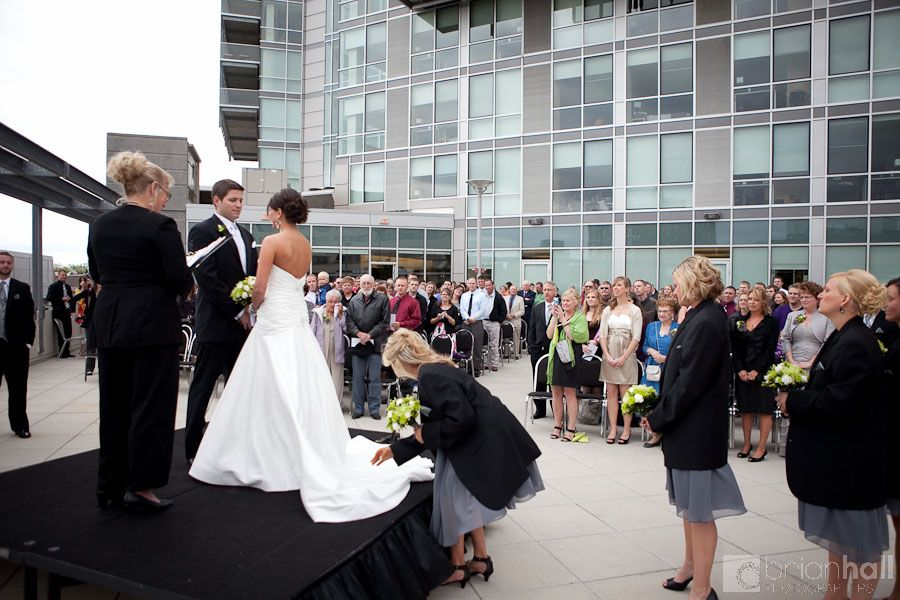 Carrie Nick Wedding At Hotel Vetro Iowa City Ia Iowa Wedding Venues Iowa City Hotel Wedding