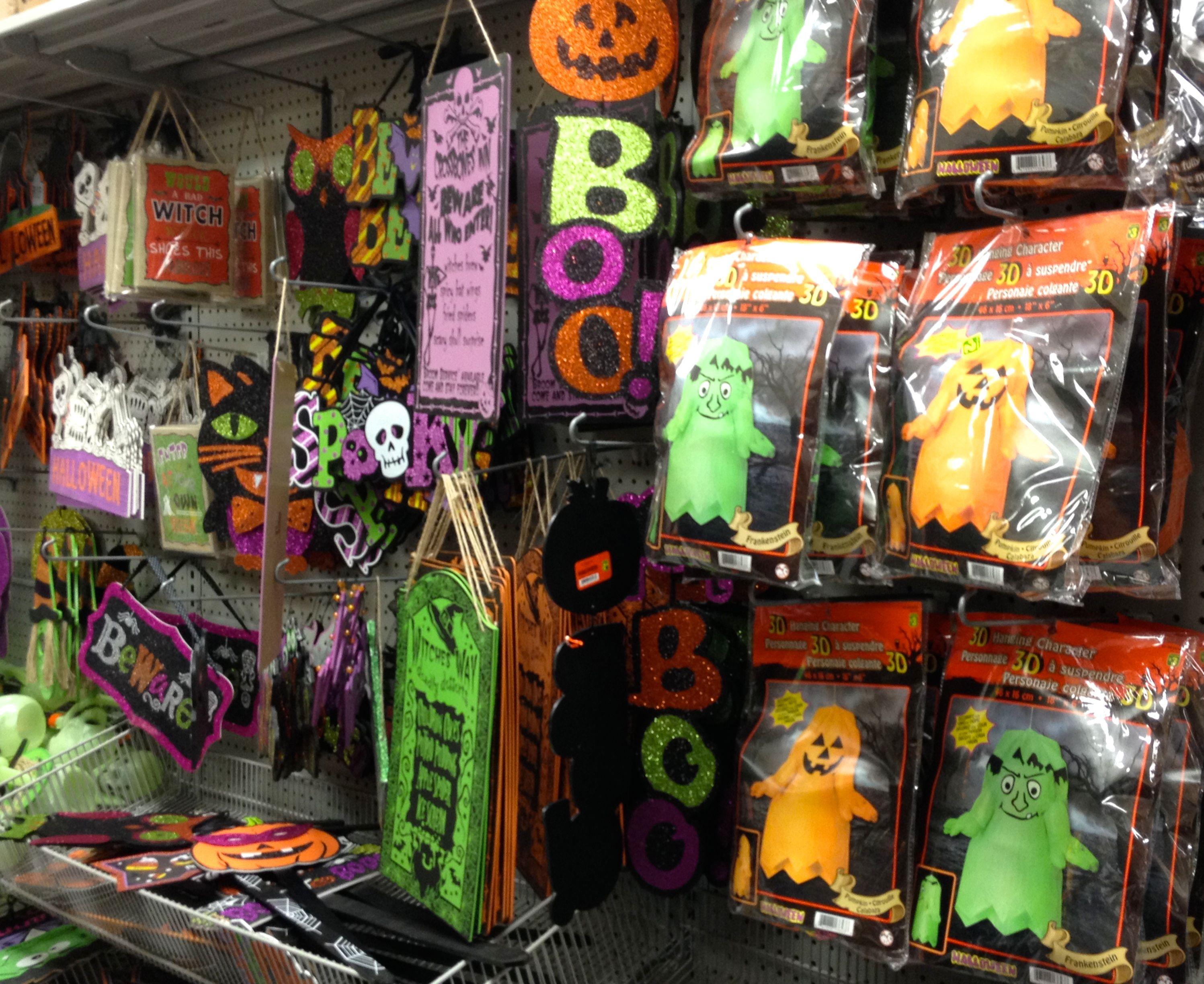 Ghostly Halloween decorations | Dollarama #trickortreat #halloween2015