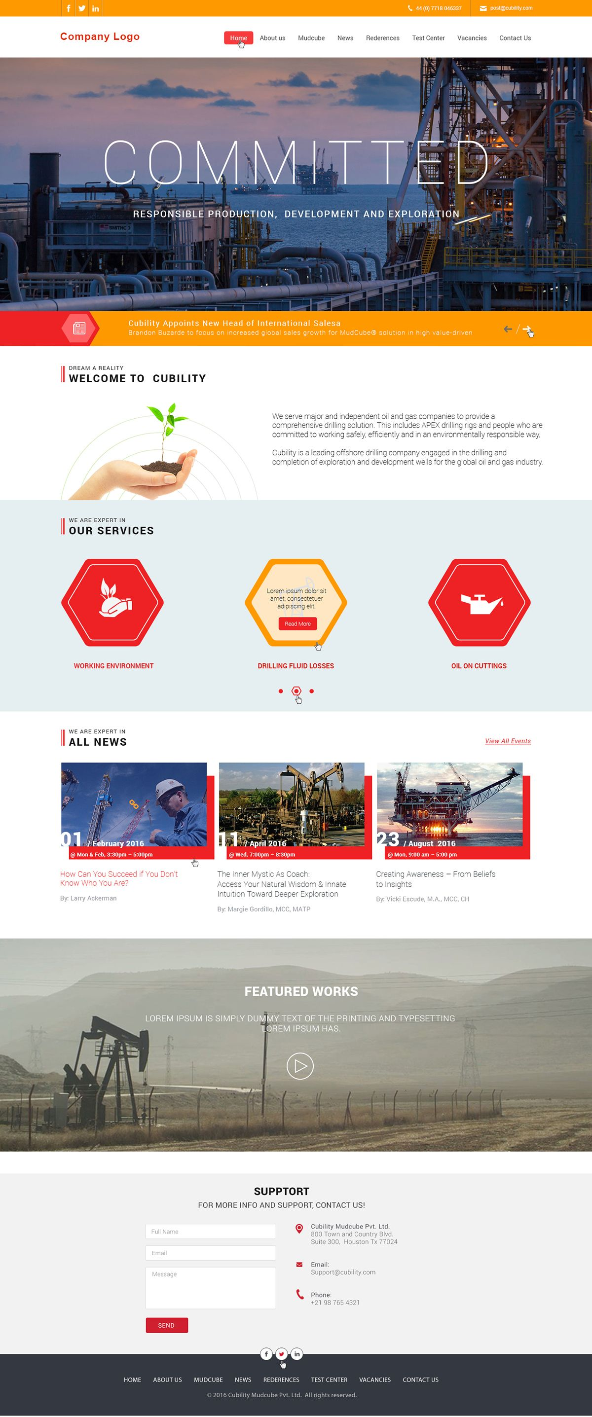 Industrial Website Templates This Customizable Industrial Website Templates Can Be Used For Any Sma Portfolio Web Design Website Template Web Layout Design