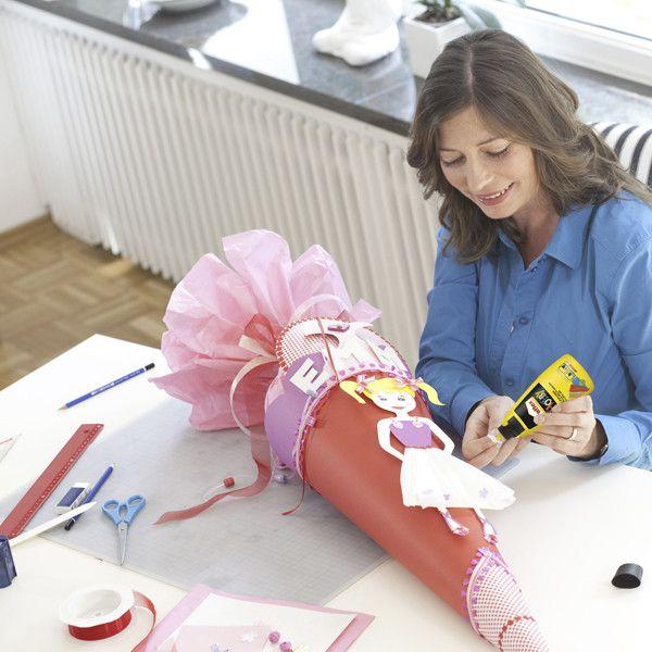 schult te basteln zur einschulung gift ideas pinterest schult te schule und t te. Black Bedroom Furniture Sets. Home Design Ideas