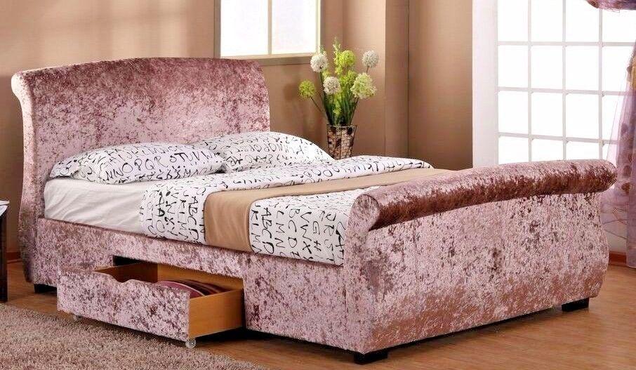 Best Details About Lavish Regent Drawer Storgae Sleigh Bed 400 x 300