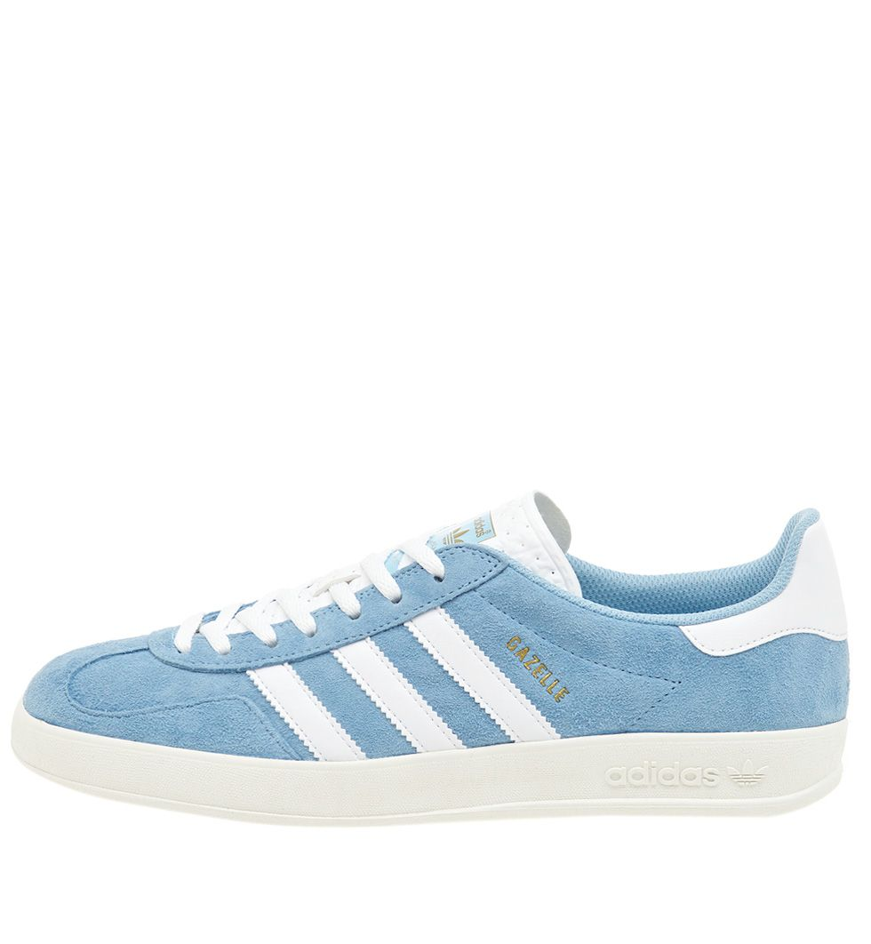 Кроссовки adidas Originals Gazelle Indoor Blue/White Article: S82647  Release: 2015