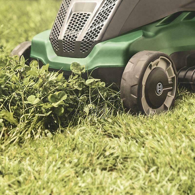 Bosch Advanced 670 Ergoslide Corded Rotary Lawn Mower Grass Cutter
