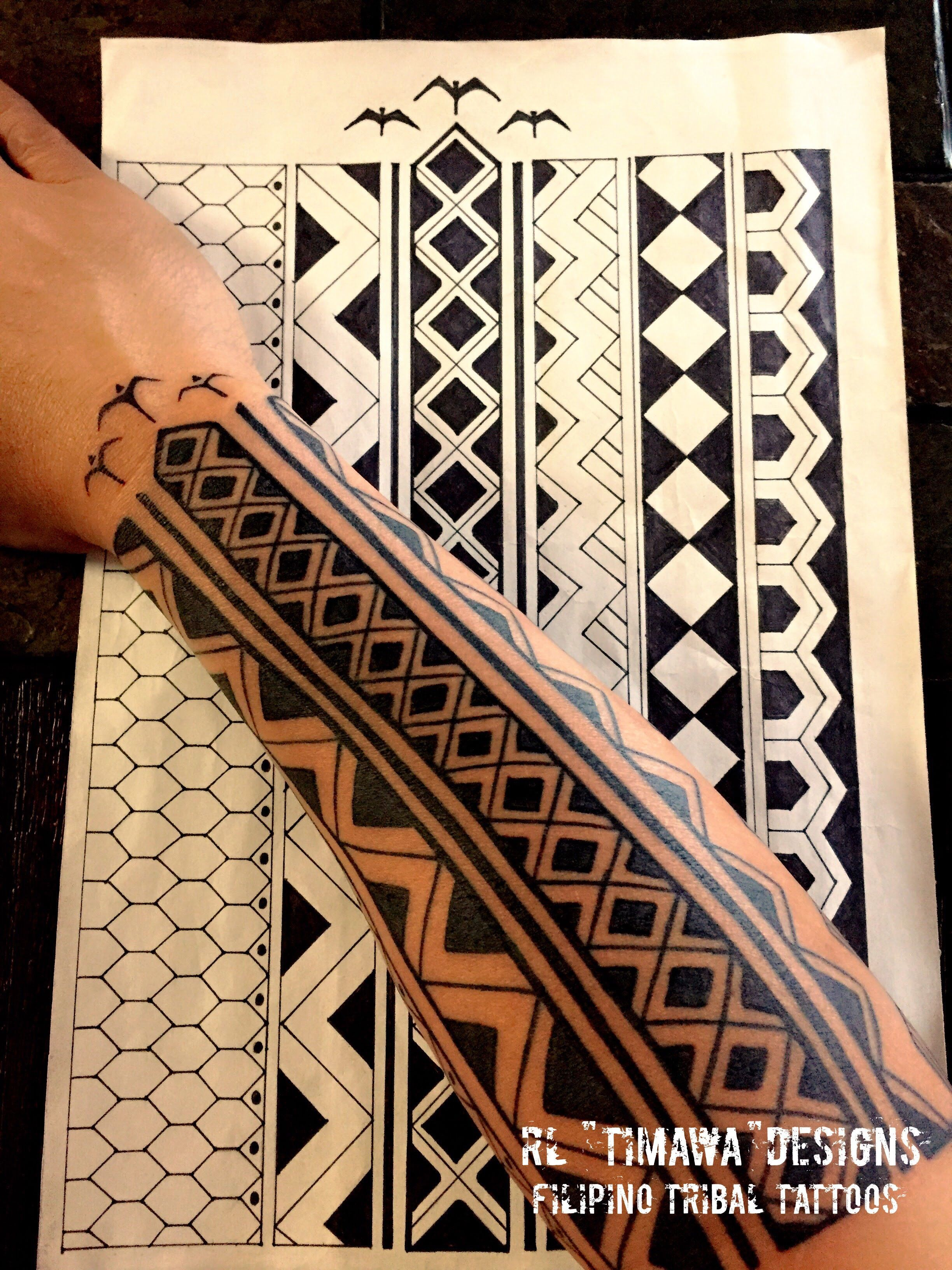 Contemporary Filipino Tribal Tattoo Designs Samoan Tattoos