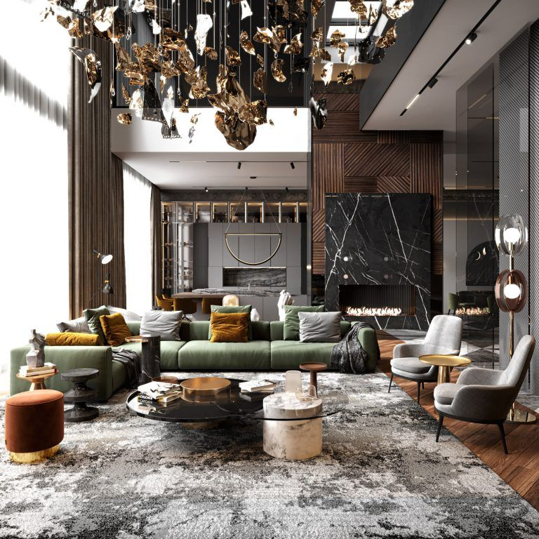 Digest Interior Design Of The Week 8 In 2020 Residential House Luxury Home Decor Luxury Living Room Design