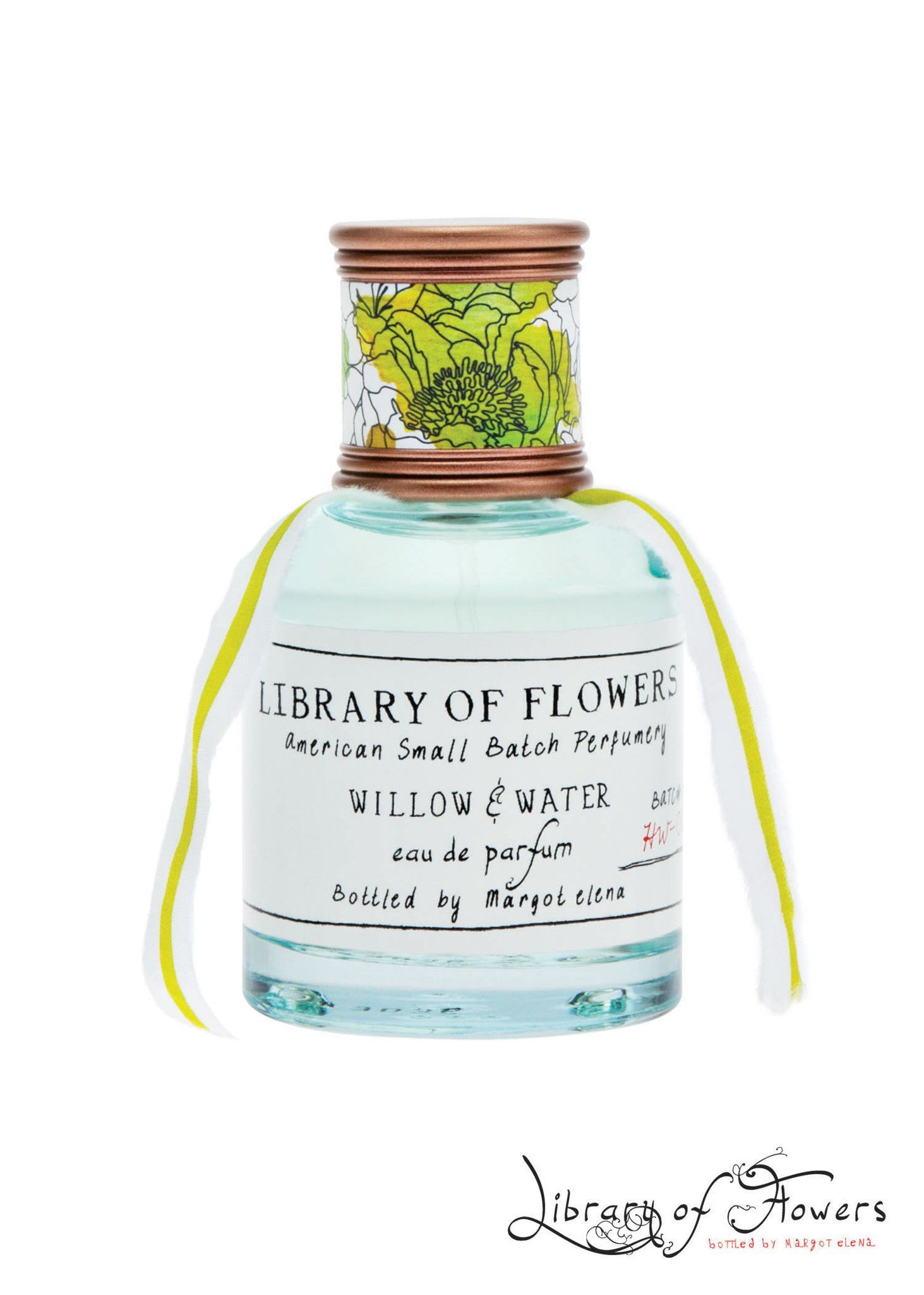 This Library Of Flowers Eau De Parfum Was Carefully Crafted To Create Memorable Journeys Through Sight And Scent We In Eau De Parfum Willow Water Bottle House